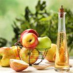 Яблочный уксус на сахаре